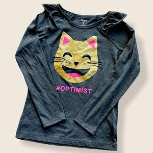 Optimist Cat Long Sleeve